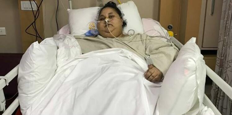 « La plus grosse femme du monde » a perdu 242 kilos en deux mois