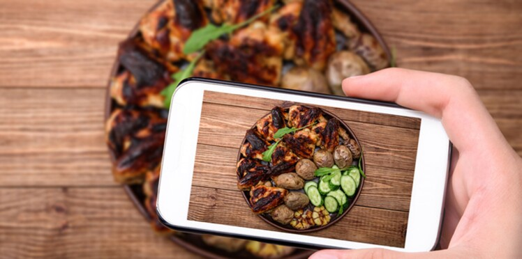 Poster des photos de vos repas sur Instagram peut vous aider à perdre du poids