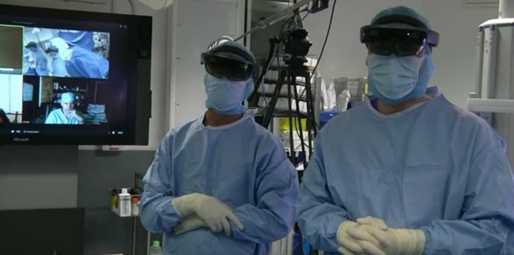 La toute première opération en réalité augmentée a eu lieu en France