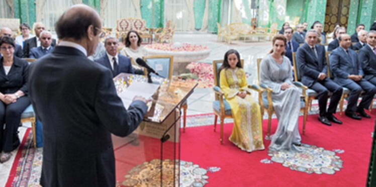 La princesse Lalla Salma reçoit la médaille d'or de l'OMS