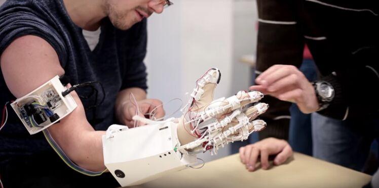 Print'hand: une main bionique pour les personnes qui en ont perdu l'usage