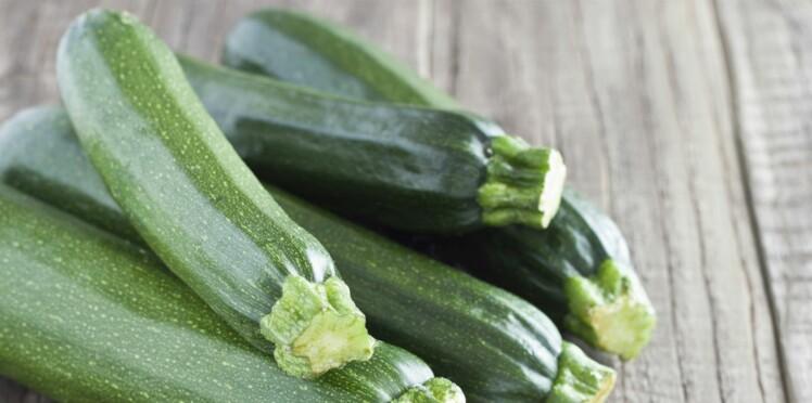 Des résidus de pesticides interdits retrouvés dans des courgettes