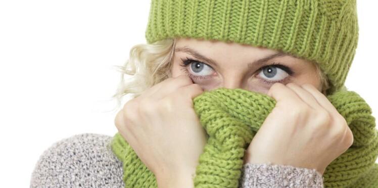 Pour éviter les rhumes... couvrez-vous le nez !