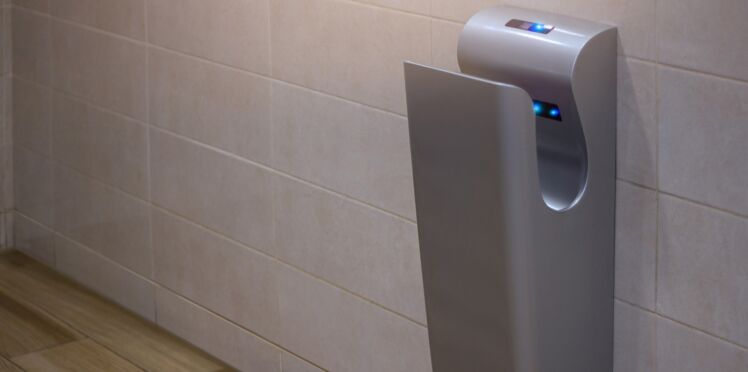 Les sèche-mains, des nids à bactéries? Une photo affole la toile