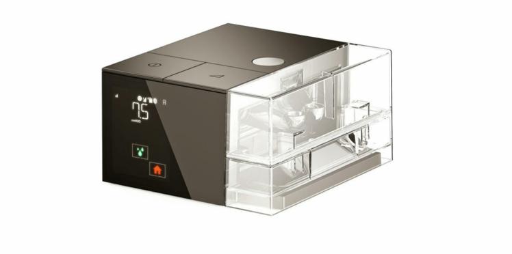 Sleepbox : un appareil design pour traiter l'apnée du sommeil signé Philippe Starck