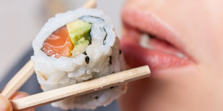 Attention aux larves dans vos sushis…
