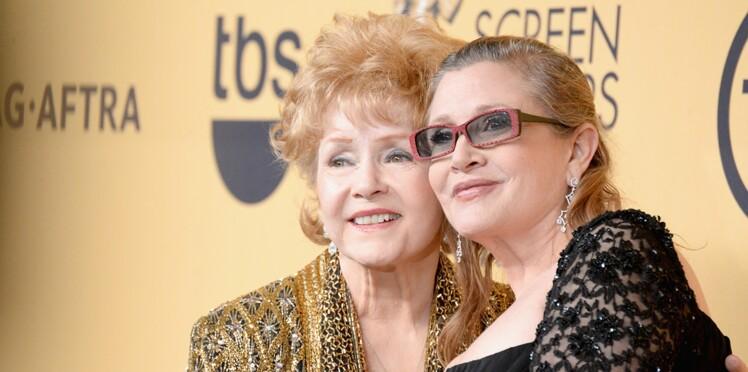 Syndrome du cœur brisé : Debbie Reynolds décède un jour après sa fille Carrie Fischer