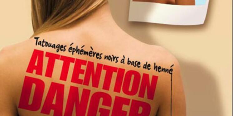 Tatouage au henné : attention danger