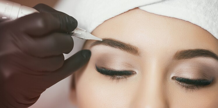 Tatouage des sourcils : attention, la couleur peut virer à l'orange