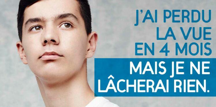 """Matthieu, 16 ans, ambassadeur du Téléthon : """"J'ai perdu la vue en 4 mois"""""""