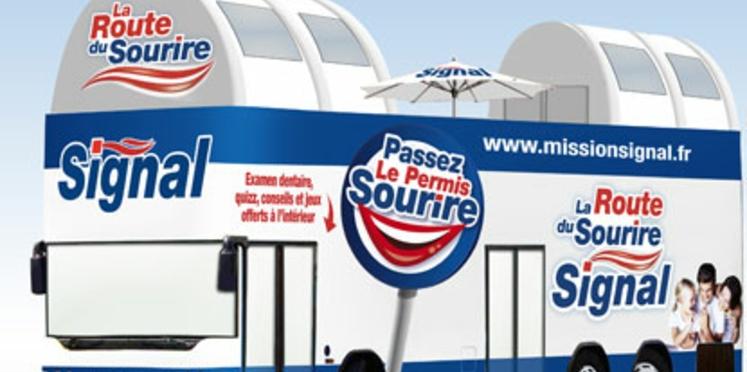 Un bus pour la santé des dents