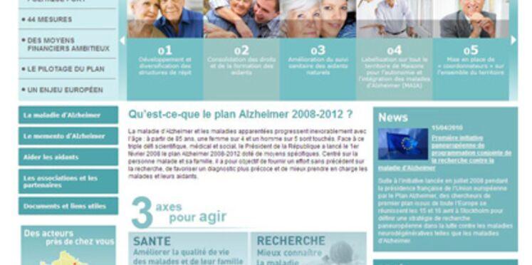 Un site Internet pour le plan Alzheimer