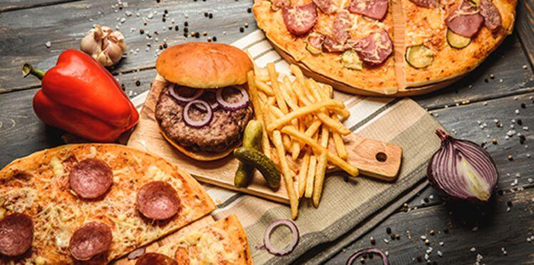 Une seule portion de hamburger et de frites pourrait endommager le foie