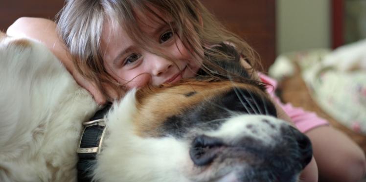 Vivre avec un chien réduirait le stress des enfants