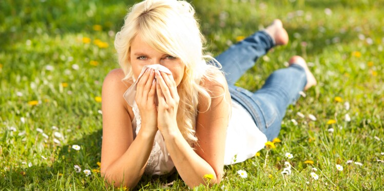 Allergie   quand elle survient du jour au lendemain...   Femme ... f256ce61c83f