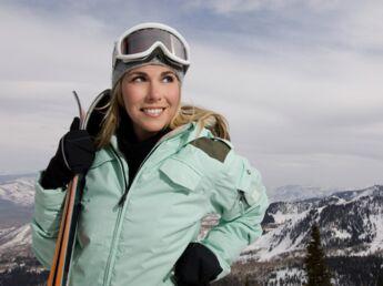 Les lunettes de ski prennent soin de vos yeux