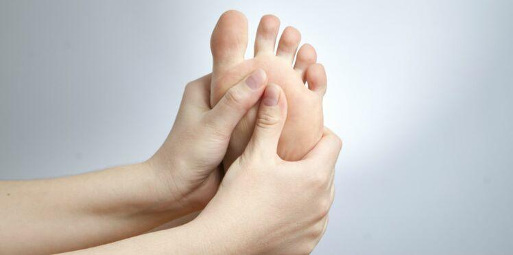 j ai mal au pied que faire