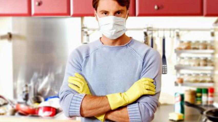 Ménage et produits toxiques