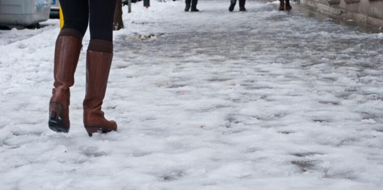 Neige et verglas : que faire en cas de chute ?