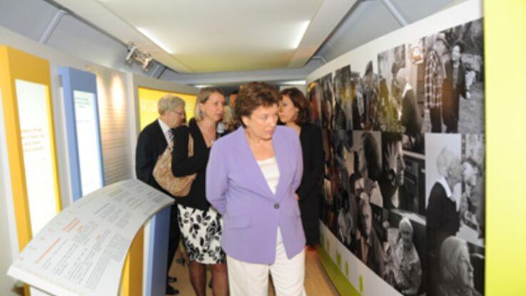 Roselyne Bachelot inaugure le train Alzheimer
