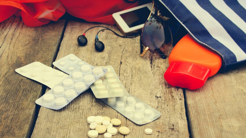 Trousse à pharmacie : les médicaments indispensables à emporter en vacances