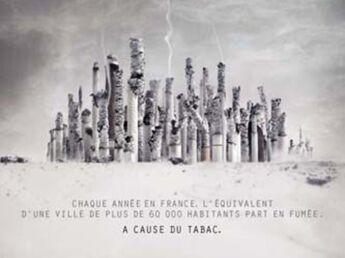 Une ville en cendres contre le tabac
