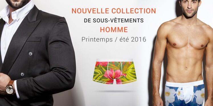 Nouvelle collection de sous-vêtements homme par Becquet
