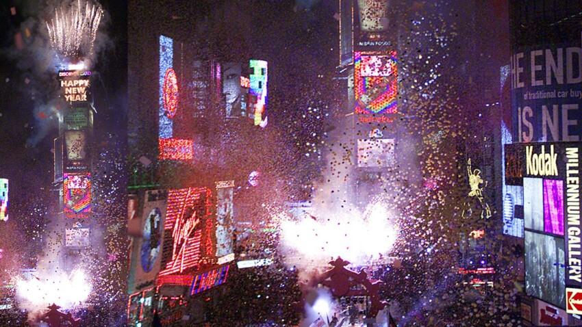 A Times Square à New York, un compte à rebours très attendu
