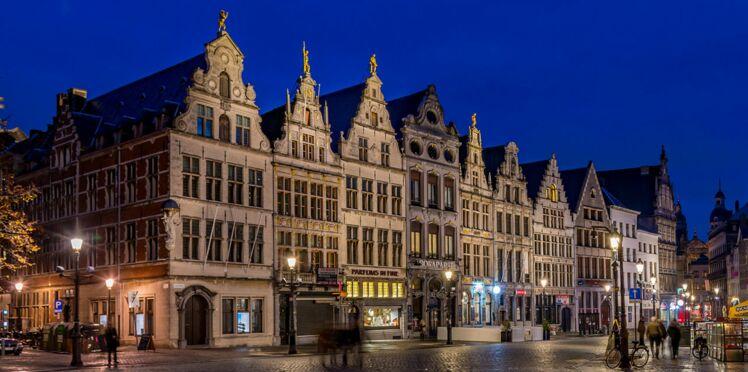 Anvers, la belle Flamande