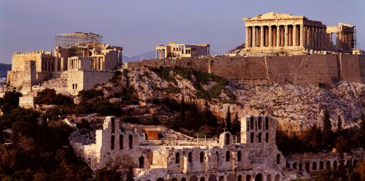 Athènes, du soleil à la sortie de l'hiver