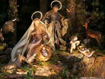 Expo de crèches balade aux origines de Noël