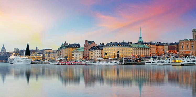 Le bel hiver à Stockholm
