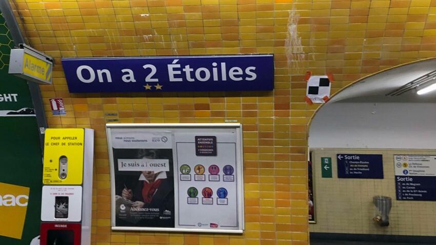 6 stations du métro parisien rebaptisées par la RATP, et c'est très drôle