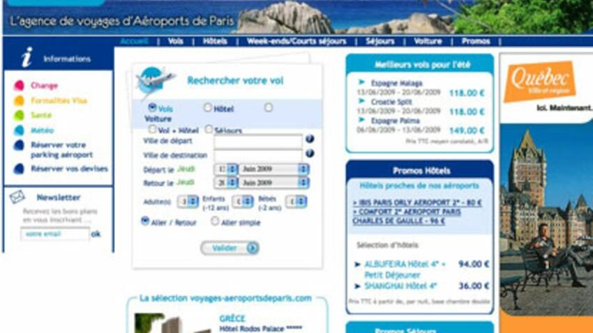 Aéroports de Paris lance son agence de voyages en ligne