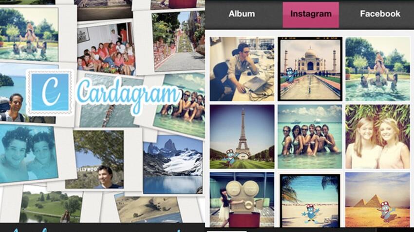 Cardagram : une application mobile pour envoyer des cartes postales dans le monde entier