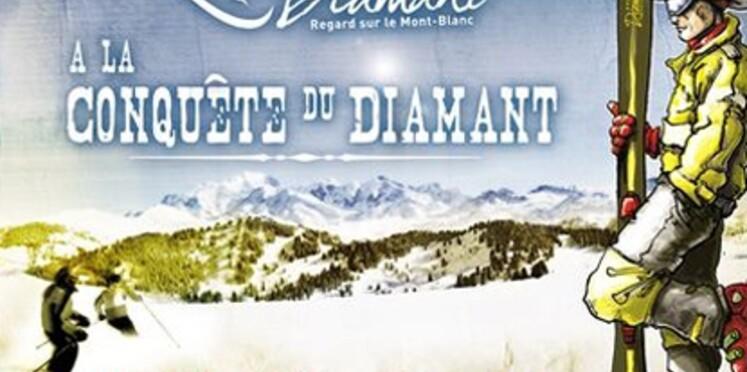 Une chasse au diamant organisée dans les Alpes