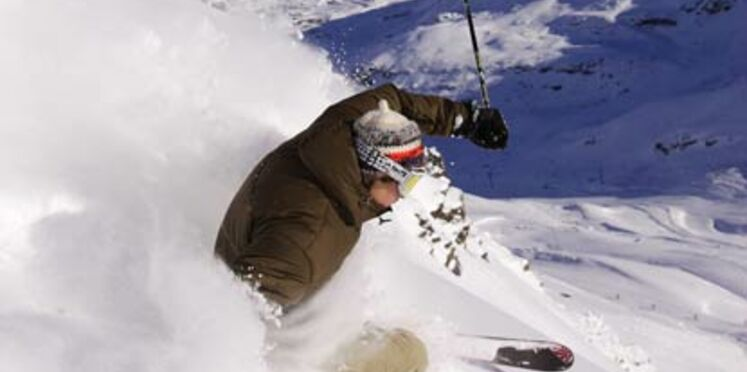 Un bon enneigement dans les stations de ski