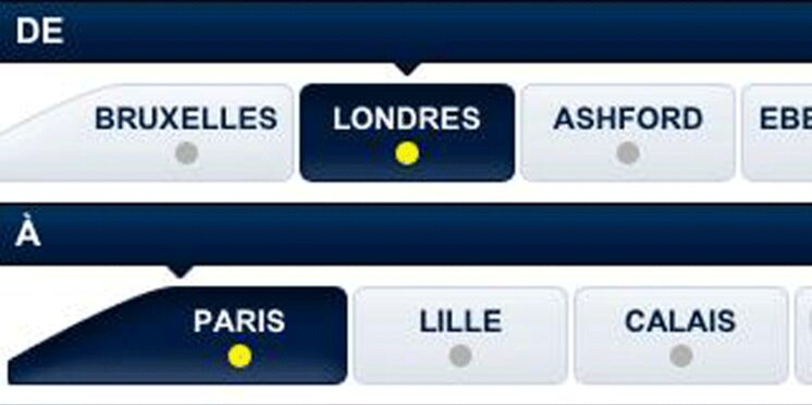 Eurostar lance son application smartphone gratuite
