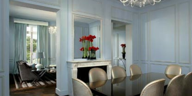 Un hôtel de luxe à Versailles