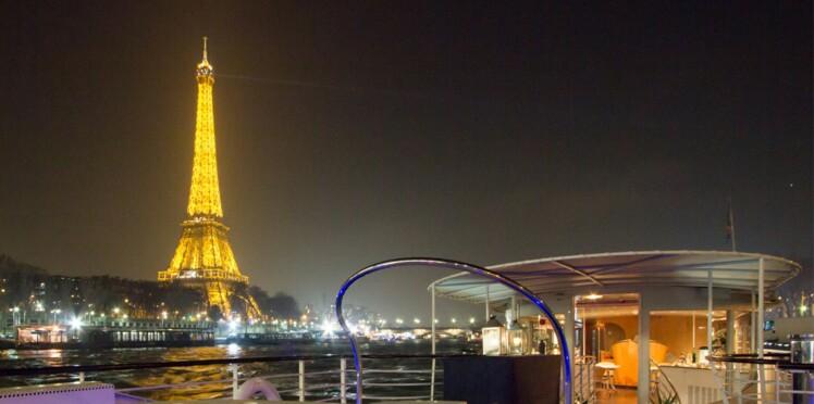 Le Yacht Joséphine, une croisière chic au pied de la tour Eiffel