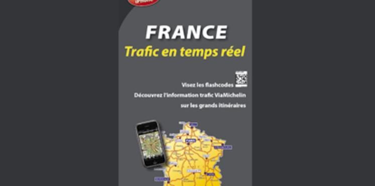 Lisez les cartes Michelin sur votre portable