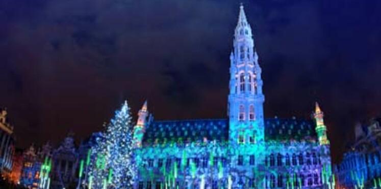 Marché de Noël à Bruxelles jusqu'à fin décembre