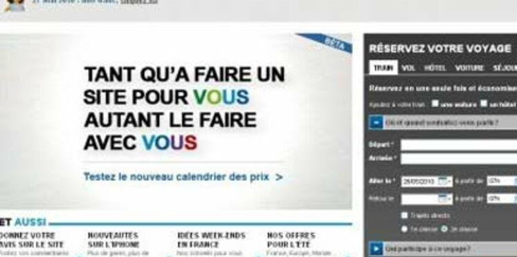 """La SNCF lance son nouveau site de réservations """"plus facile"""" le 1er juin"""