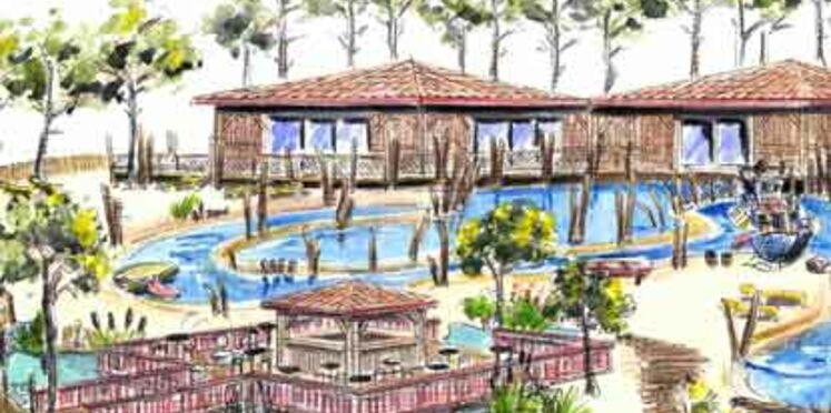 Fram dévoile les bungalows de son futur village de vacances au MAP