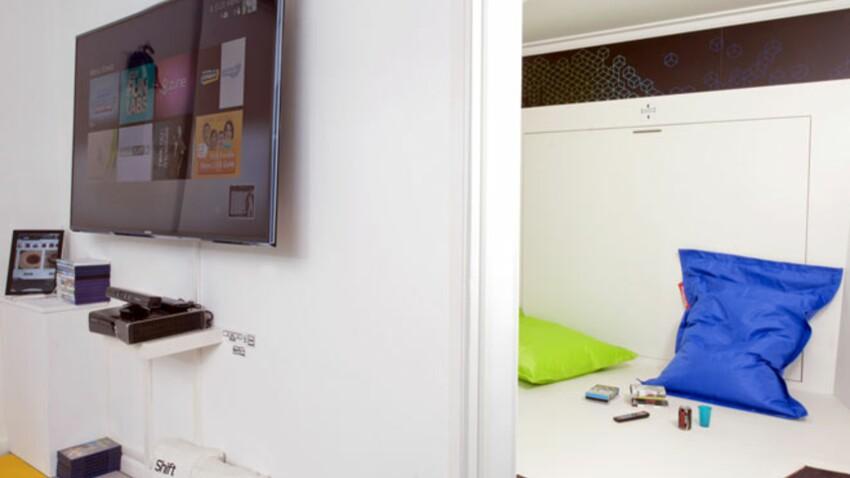 Réservez une chambre d'hôtel 100% hi-tech