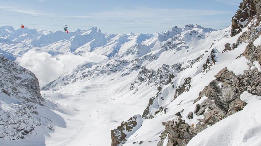 La tyrolienne la plus haute du monde est dans les Alpes