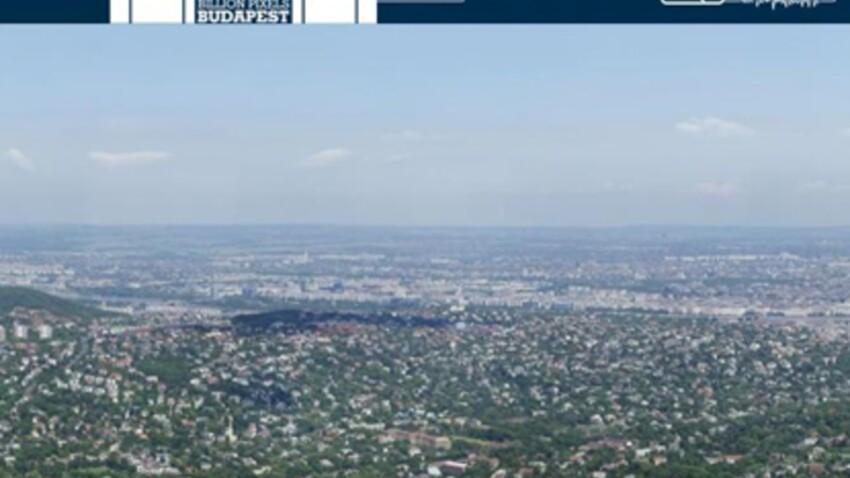 Une vue panoramique de Budapest à 70 milliards de pixels!