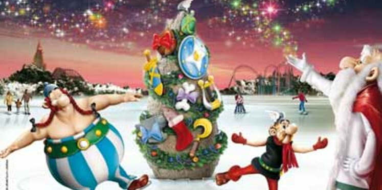 Le parc Astérix rouvre ses portes pour Noël