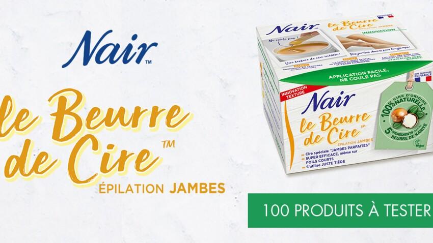 Testez le Beurre de cire 100% d'origine naturelle NAIR gratuitement