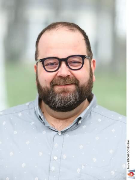 Stéphane, 46 ans, psychologue, habitant à Lille.